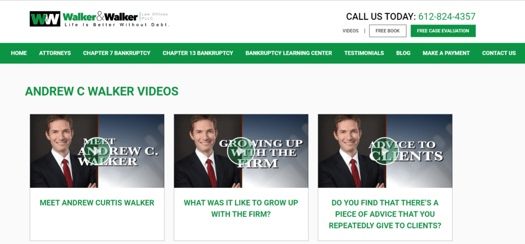 lawyer videos